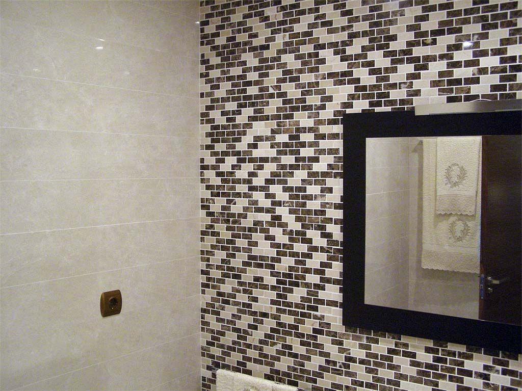 Decoraci n de interiores ba o de marmol decoracion de - Mosaicos para banos ...