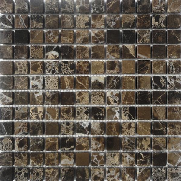 Comprar mallas marmol envejecido gresite marron for Marmol color marron