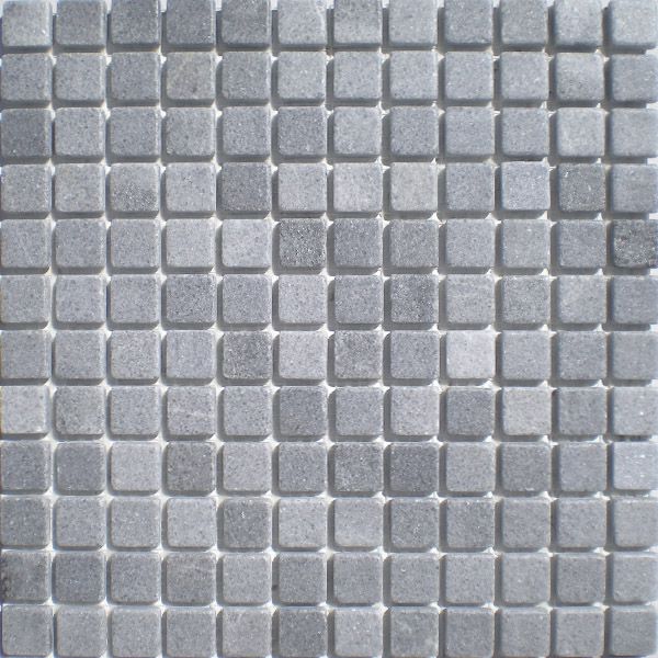 mosaico de mrmol gris macael 23x23 cm