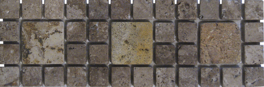 Revestimientos para ba os cenefas marmol cenefas for Precio marmol travertino para exterior