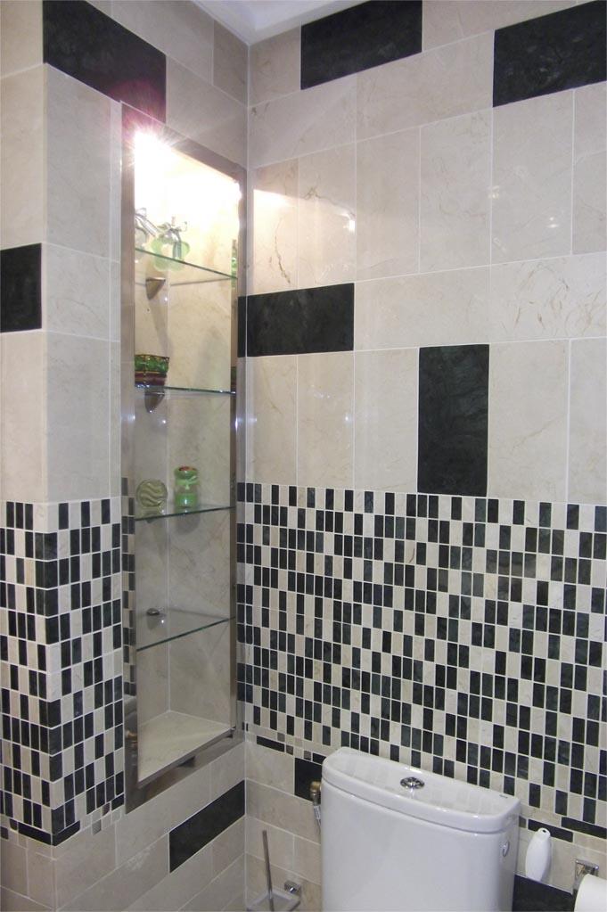 Mosaico de marmol envejecido mosaico de marmol gresite - Banos decorados con mosaicos ...
