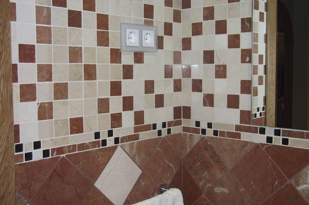 Comprar mosaicos mosaicos enmallados marmol envejecidos for Marmol para banos precios