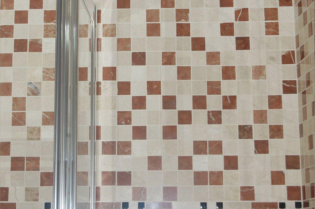 Comprar mosaicos mosaicos enmallados marmol envejecidos - Gresite banos precios ...