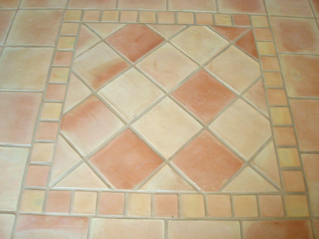 Barro manual barro cocido baldosas artesanales for Precio mosaicos para exterior