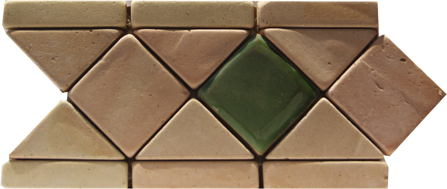 Ladrillos de valentin azulejos y mosaicos barro manual for Precio mosaicos para exterior