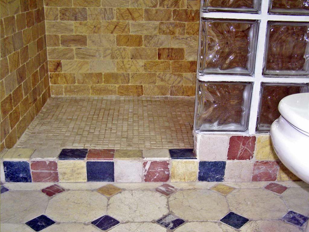 Ba o de marmol decoracion ba o marmol envejecido ba os for Banos decorados con piedra