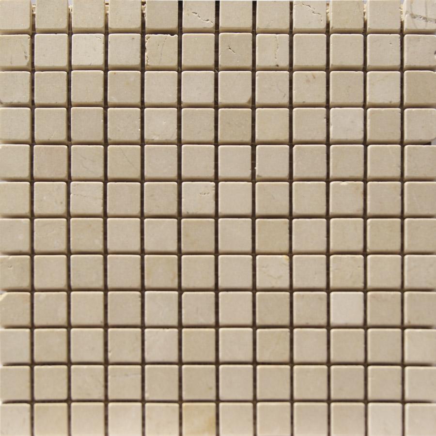 Ba os en gresite azulejos y mosaicos en marmol crema - Gresites para banos ...