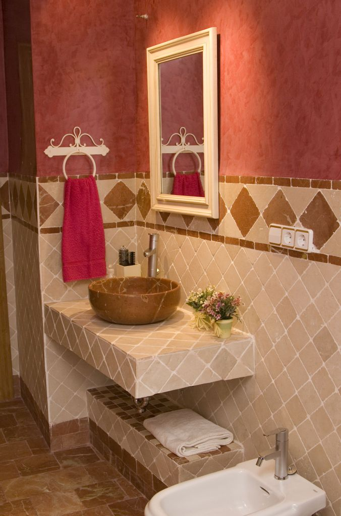 Baños Decorados Minimalistas:baños marmol