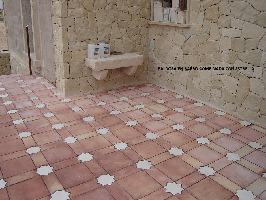 Venta de suelos de barro con dibujos venta de suelos de for Suelos rusticos exterior