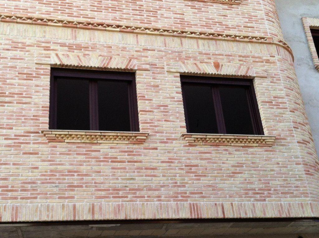 Fachadas de ladrillo rustico vivienda unifamiliar en tomio pontevedra spain casas de estilo - Fachadas ladrillo rustico ...